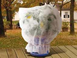 Tareas de protección contra el frío, heladas y viento.